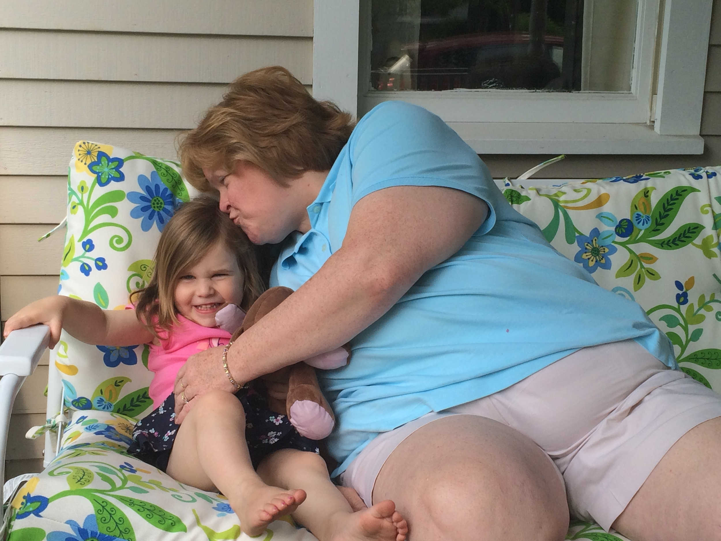 Hugs and kisses from Mimi on the best porch in Scituate.