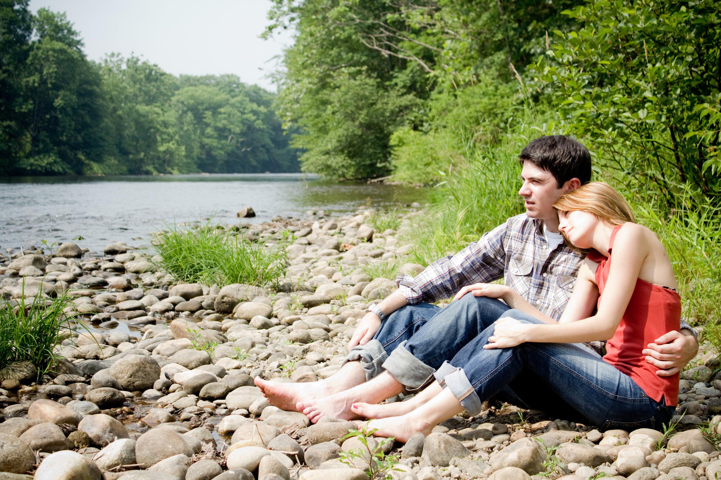 Amanda and Zach Collinsville Connecticut Engagement Photographer Shannon Sorensen Photography