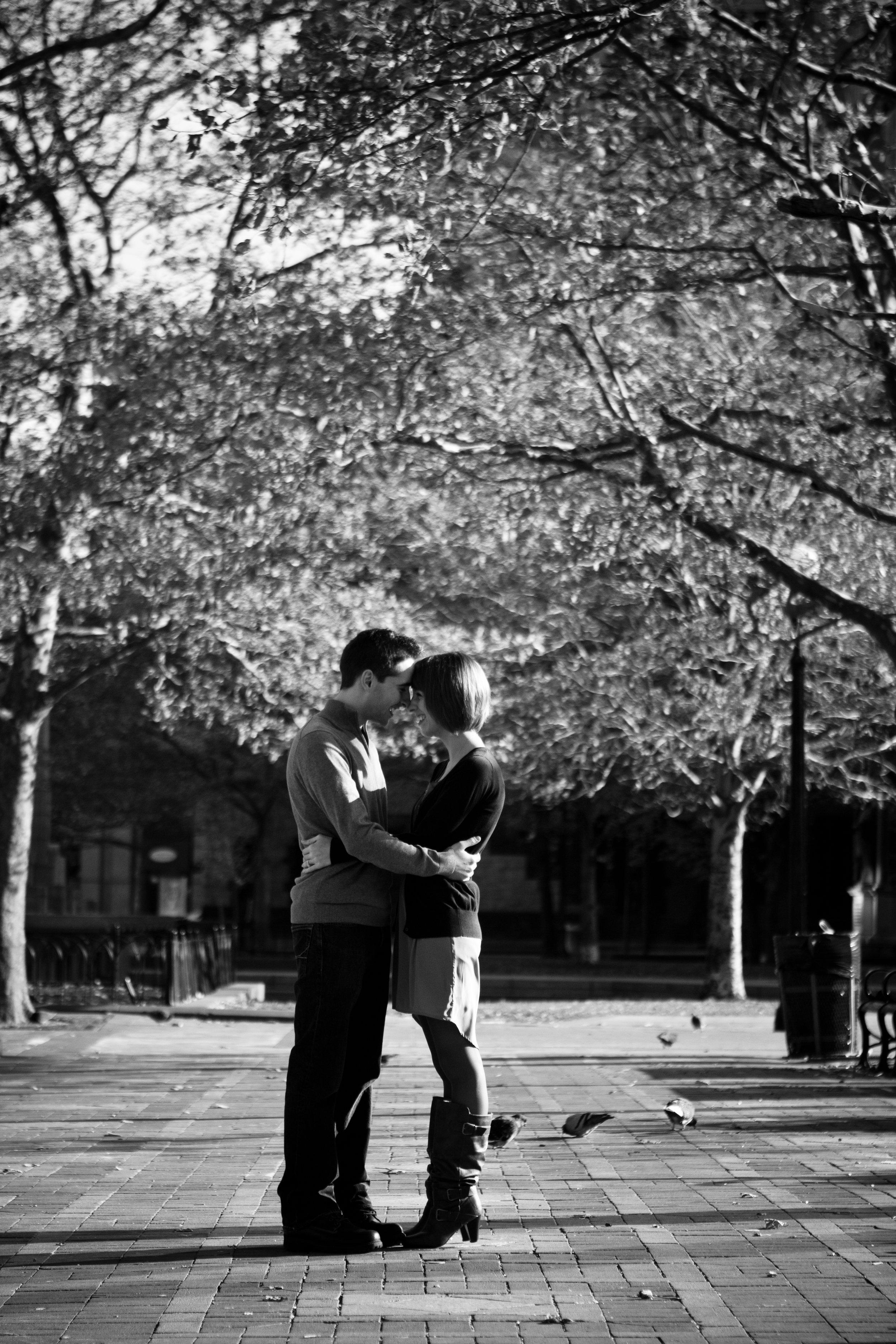 Emily and Pat Copley Square Boston Public Garden Massachusetts Engagement Photographer Shannon Sorensen Photography