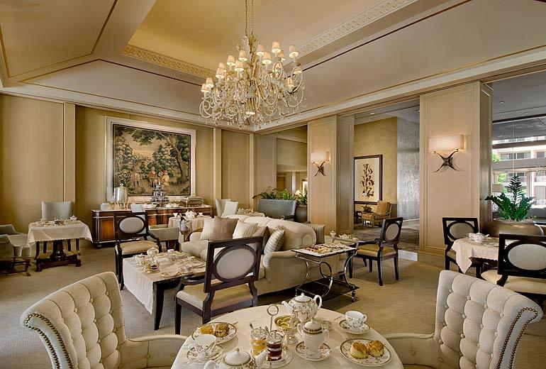 Tea Time, The Phoenician's Lobby