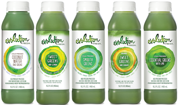 EVOLUTION FRESH - COCONUT WATER & GREENS