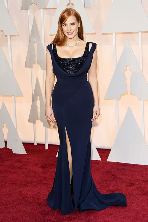 JESSICA CHASTAIN - GIVENCHY