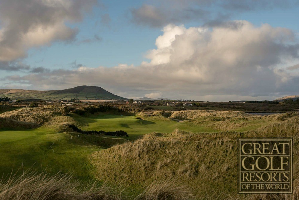 """Waterville House and Golf Links is one of 34 world """"bucket list"""" resorts. Waterville is honored to represent Ireland.   Unparalleled Golf, Distinctly Different"""
