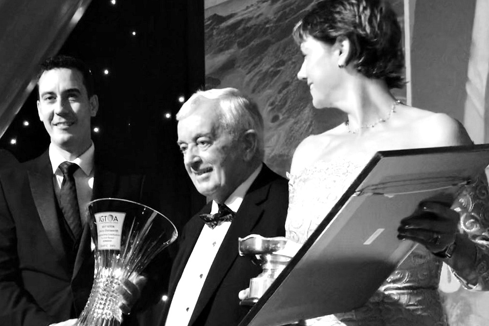 Congratulations to Noel Cronin, this year's recipient of the 2017 IGTOA, Ireland Golf Tour Operator Association, Jerry Donworth Award for his excellent contribution to golf in Ireland.