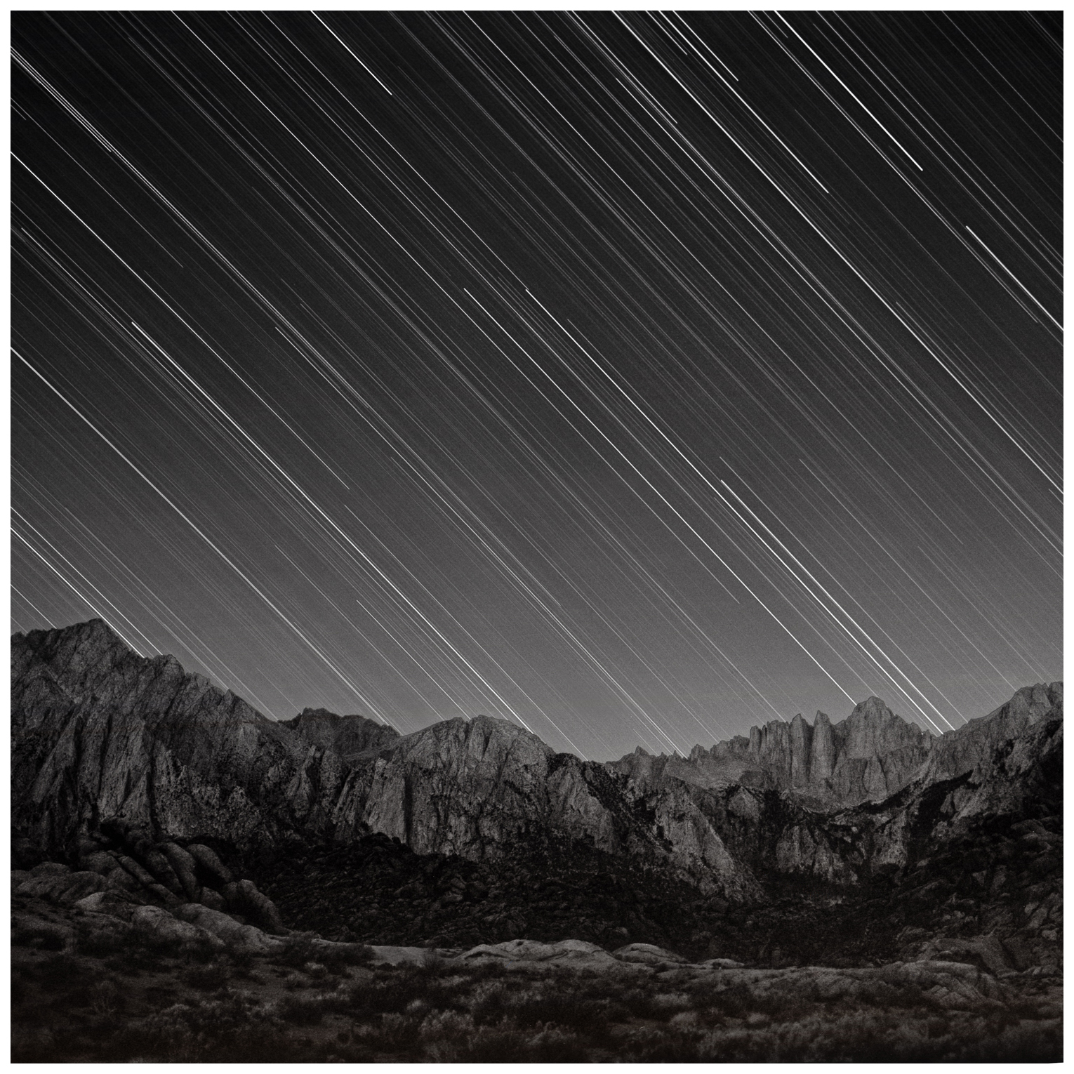 Celestial Equator Over Mount Whitney