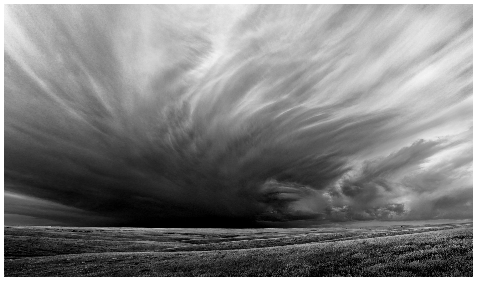 Building Storm, Jones County, South Dakota