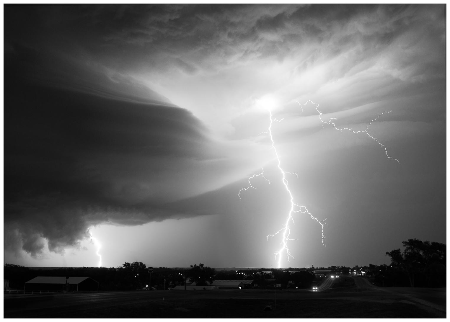 Lightning Storm Near Canadian, Texas 3