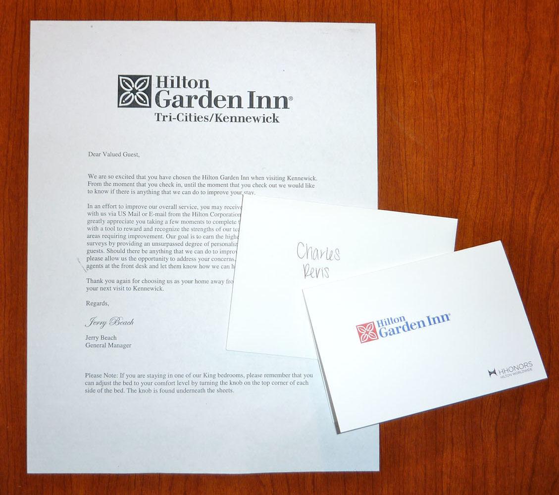Hilton Comfort Guide