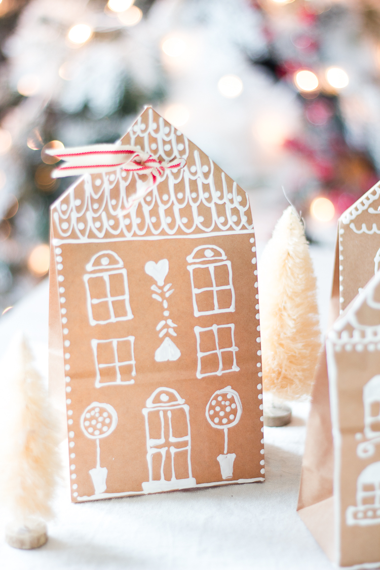 http://www.craftberrybush.com/2015/12/gingerbread-house-paper-bag-gift-wrap-idea.html