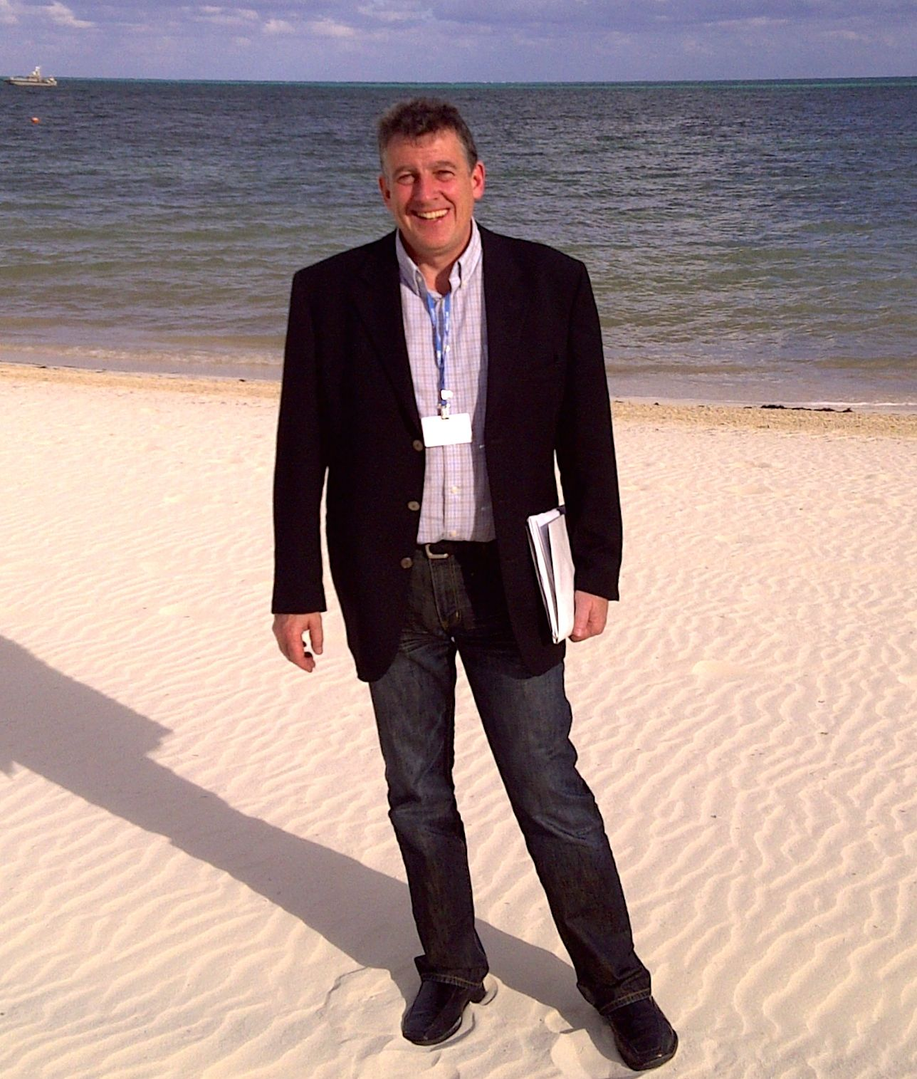 Tom attending UN climate sessions in Cancun, MX.
