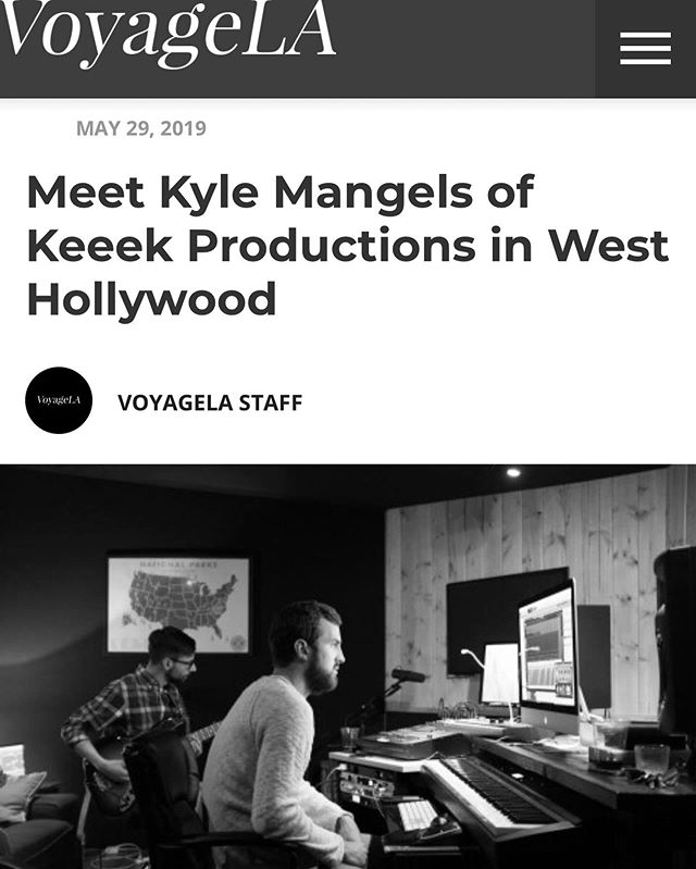 Had the pleasure of being interviewed by @voyagelamag for LA's Most Inspiring Stories. Link in bio! 🏄🏻‍♂️