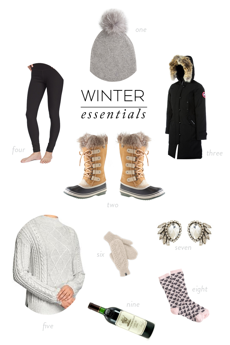 New England Winter Essentials Abby Capalbo