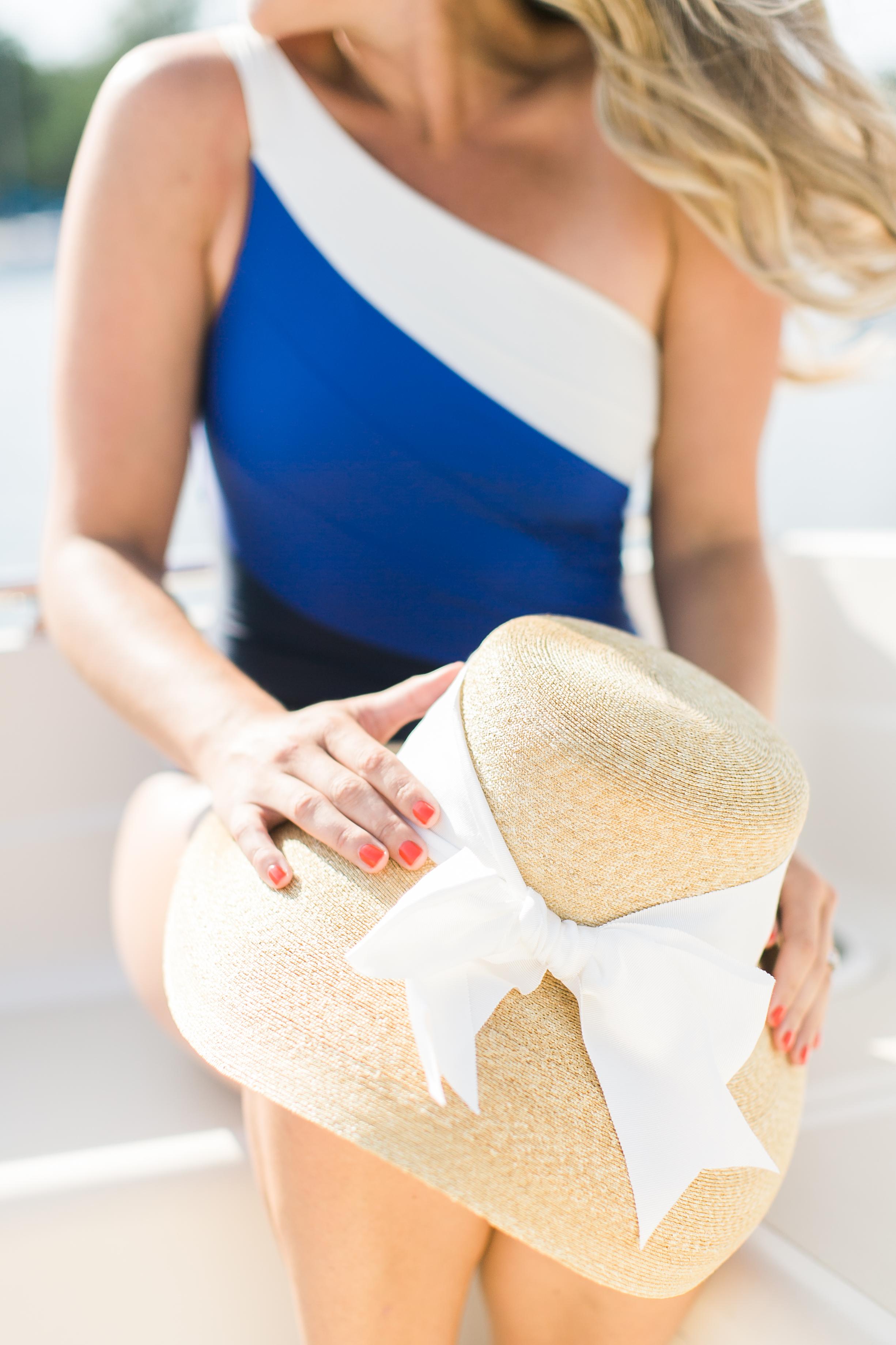 new england swimwear hats blogger