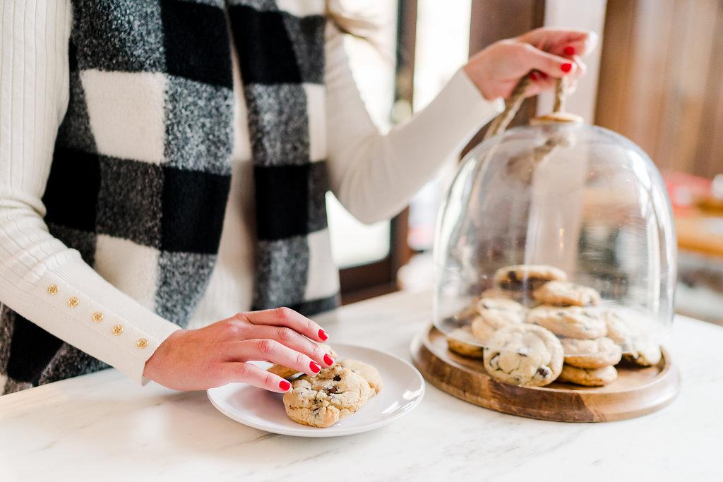 Vermont Ski House Design Cookies