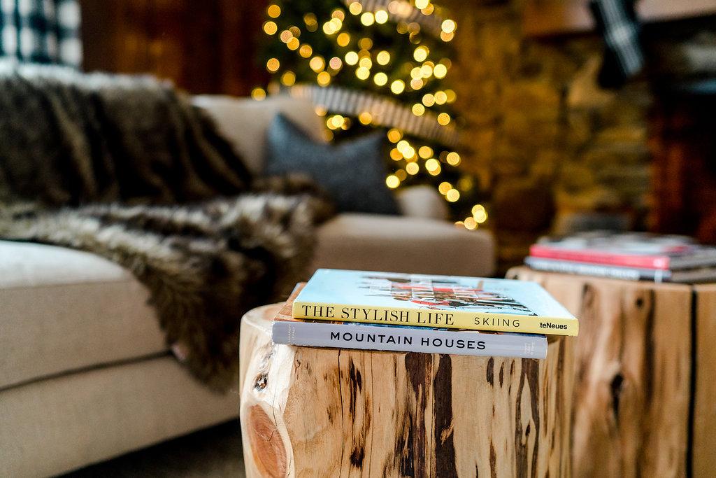 Vermont Ski House Design Coffee Table Books