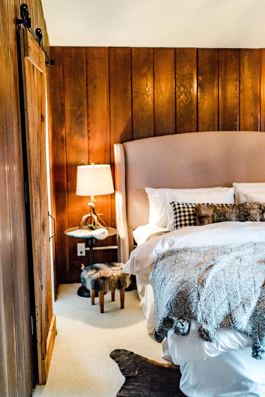 Vermont Ski House Bedroom Design