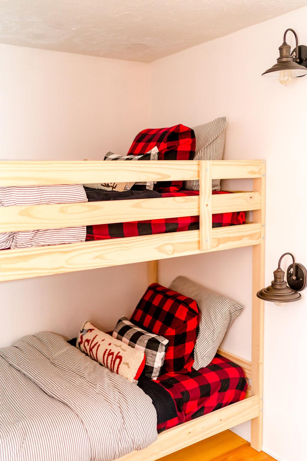 Vermont Ski House Bedroom