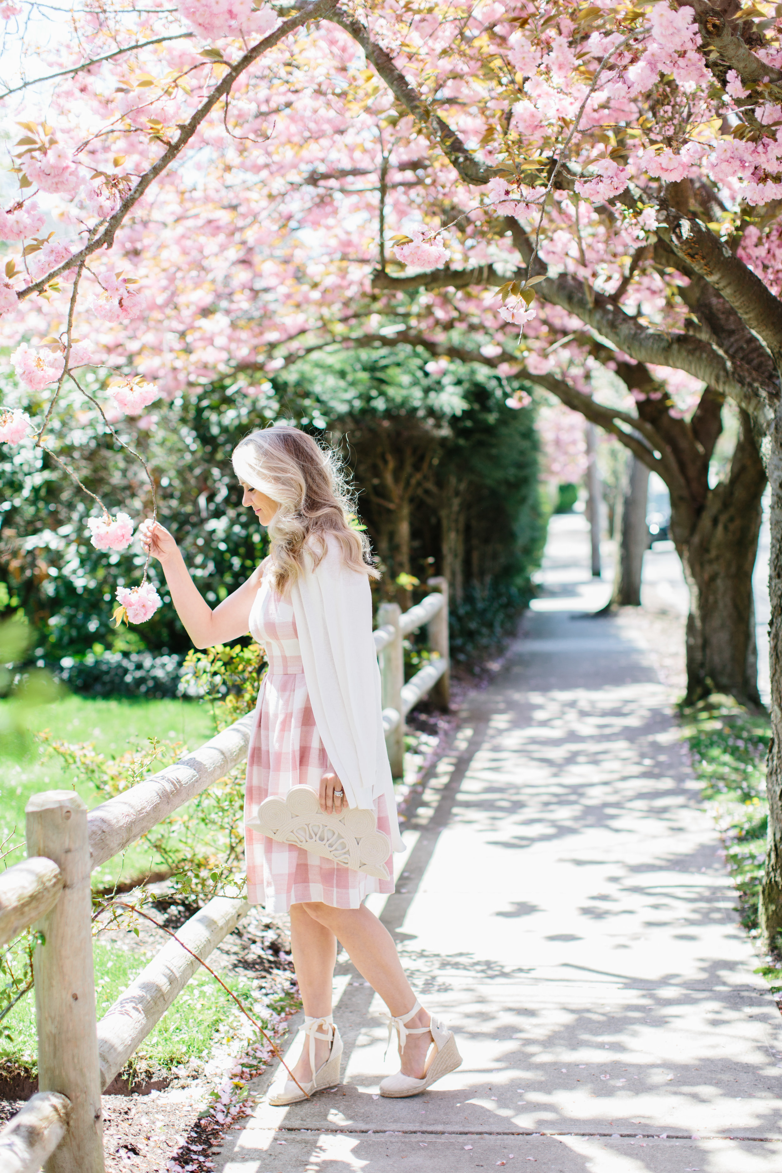 Spring in Providence with Abby Capalbo Gingham Dress | Photography: Erin McGinn