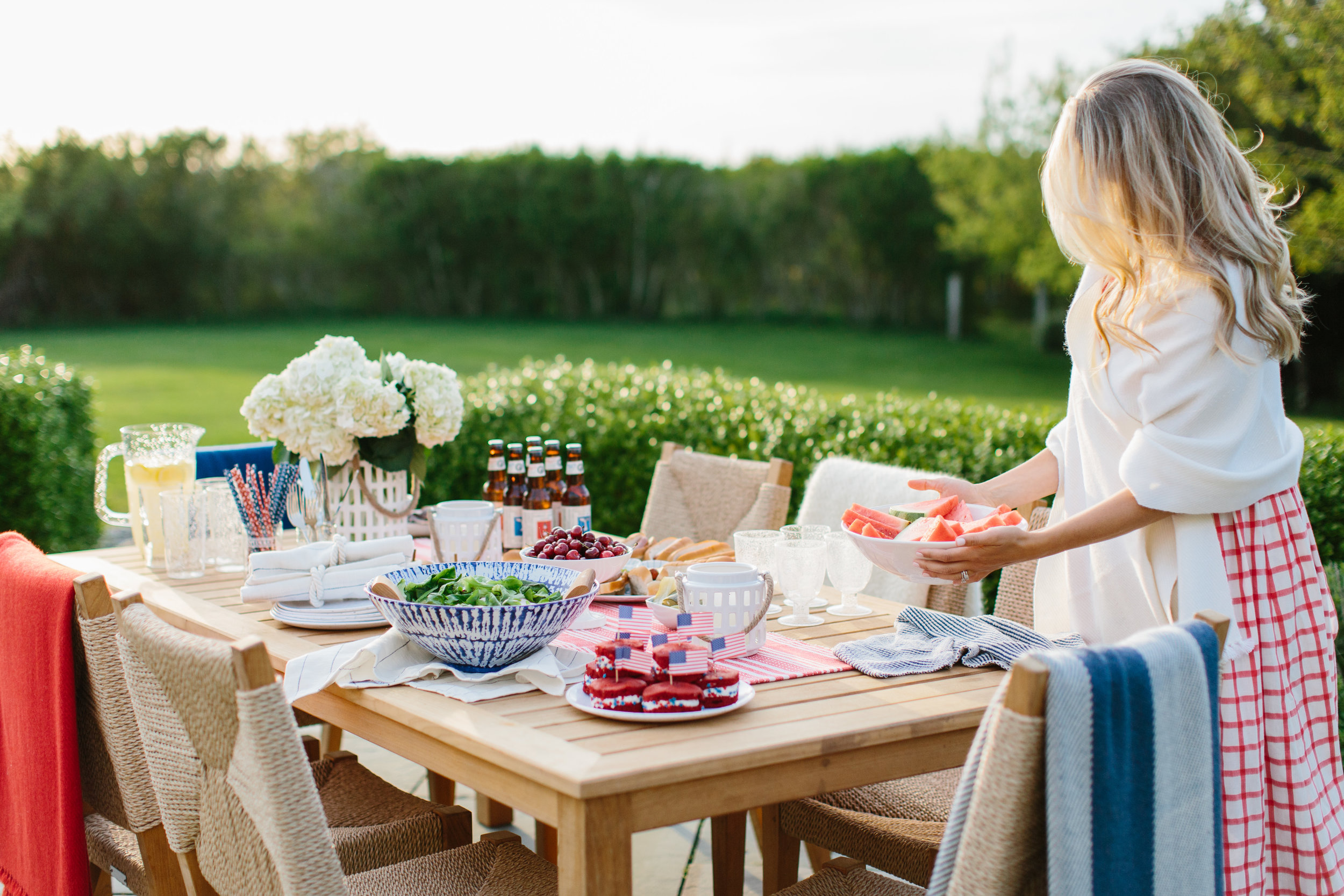 New England Fourth of July Nantucket Looms Coastal Living by Abby Capalbo | Photography: Erin McGinn