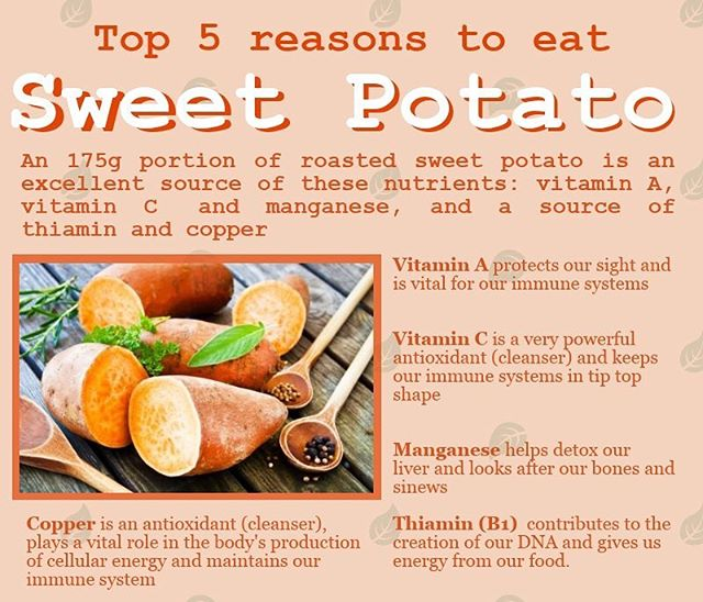 More reasons to stop by and get our kale and sweet potato salad! So many benefits to the sweet potato 🍠  #vegan #veganfood #veganrecipes #salad #blogto #sweetpotato #wellness #healthyrecipes #kalesalad
