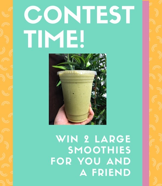 *CONTEST TIME* We're giving away 2 free large smoothies (any flavour on our menu) for you and a friend! 🥤🥤 Rules: 1. Tag a friend in the comment section telling us what your fave flavour of smoothie is. 2. Make sure you and your friend are both following @organiquejuice  3. Repost this on your story and tag us for a bonus entry. *Must be from the GTA to enter.* Contest is only running for 1 week! Winner will be picked on Friday August 9th!  #contest #mississauga #smoothiebar #contestgiveaway #healthyfood #vegan #streetsville #insauga #healthyrecipes #followme #gametime #friends #smoothies