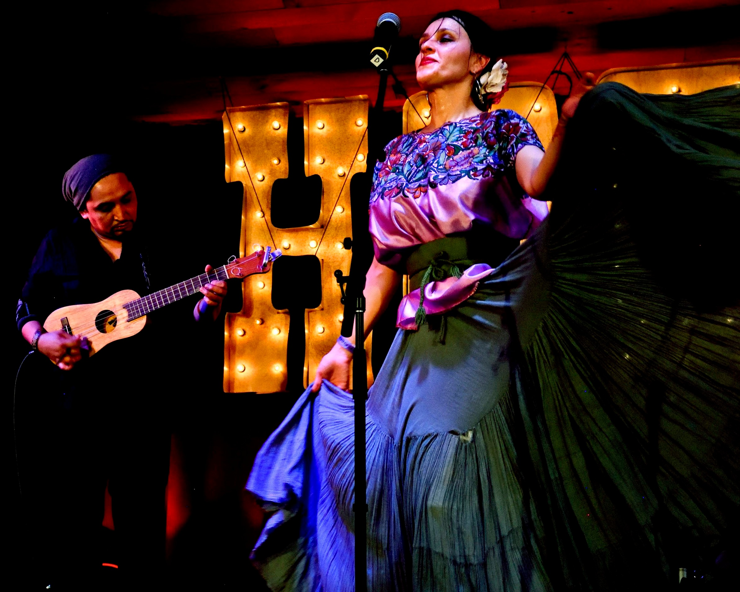 radio jarocho - Radio Jarocho plays the rowdy, upbeat, and at times melancholic music of the countryside of Veracruz, Mexico, having mixed it with the sounds of New York's urban life for over ten years. They deliver performances that are passionate, energetic, and true to the roots of the genre. They raised the roof at the 2017 Winter Hoot and we're thrilled they're coming back!
