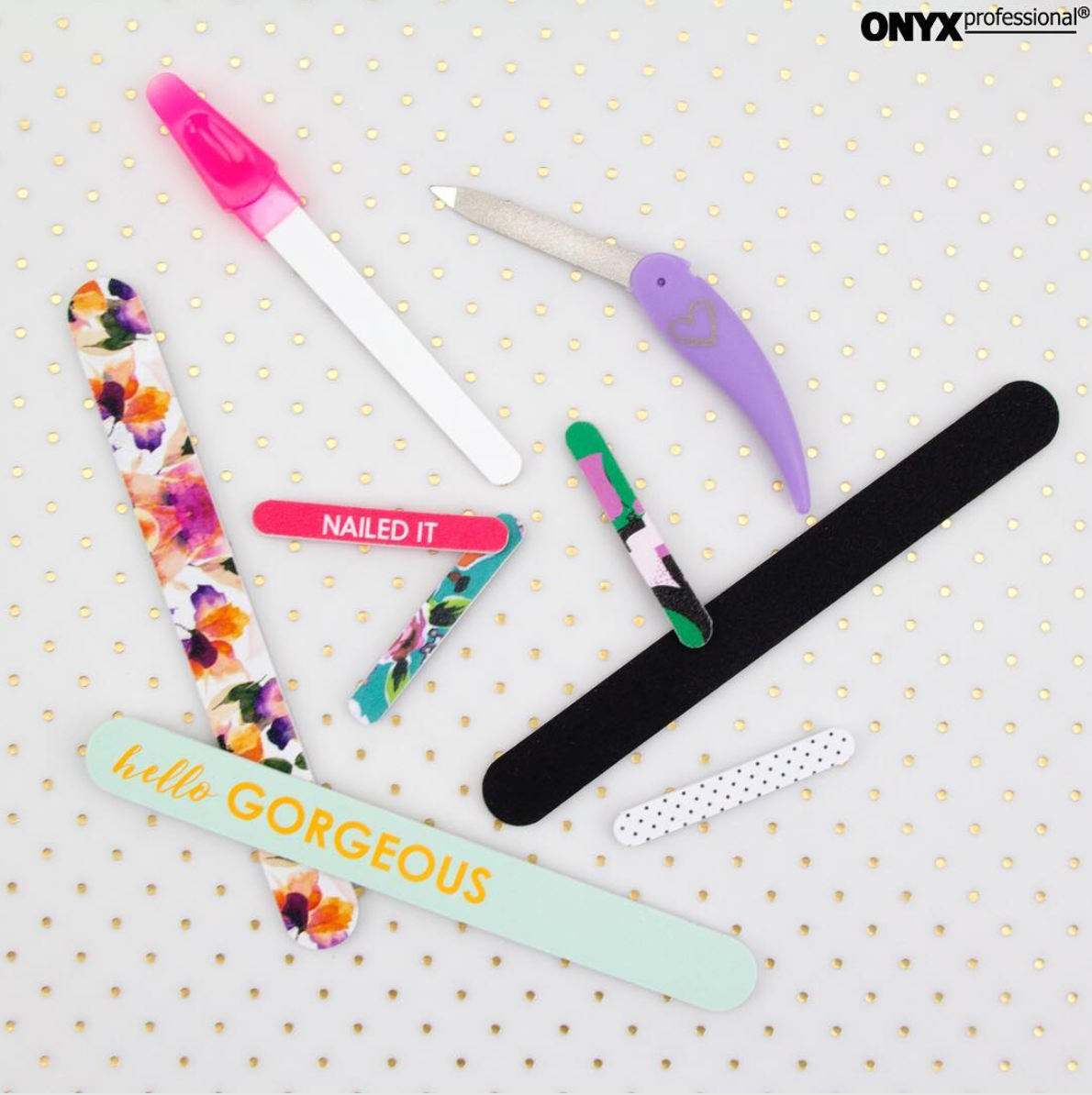 Onyx Brands fashion nail files