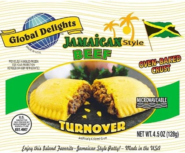 Beef Jamaican Patties