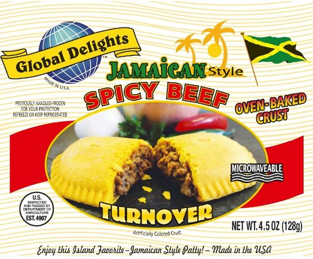 Spicy Beef Jamaican Patties