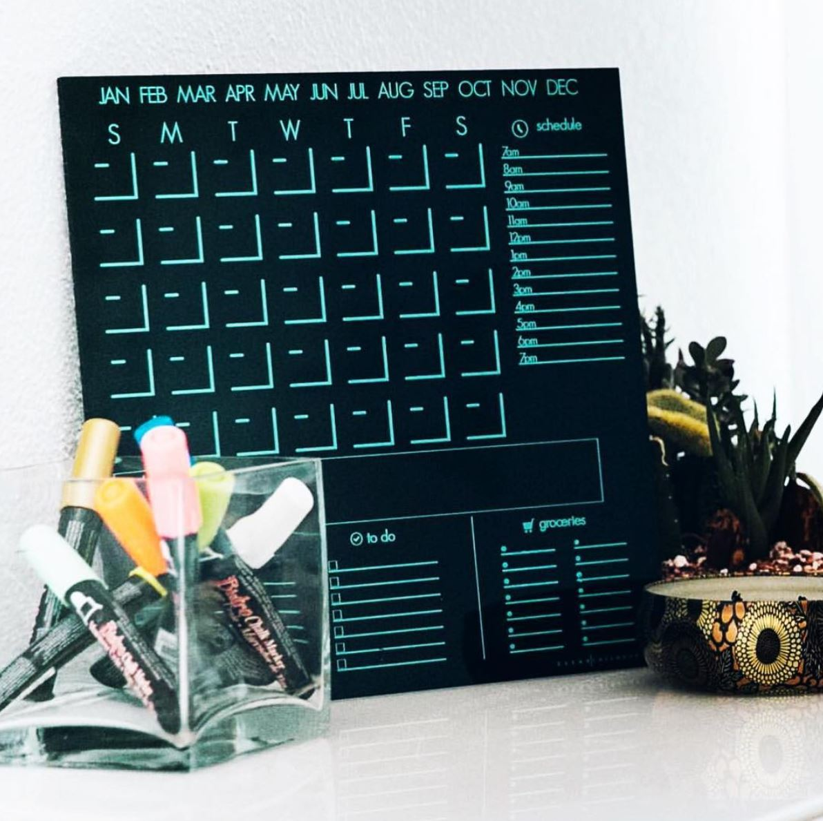 The Stay-At-Home Calendar