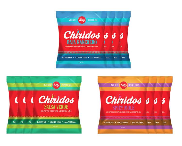 Chiridos Air-Puffed Chips 1oz