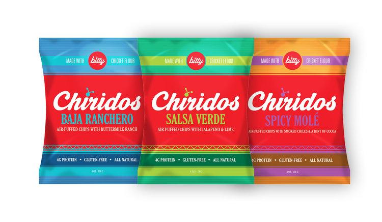 Chiridos Air-Puffed Chips 6oz