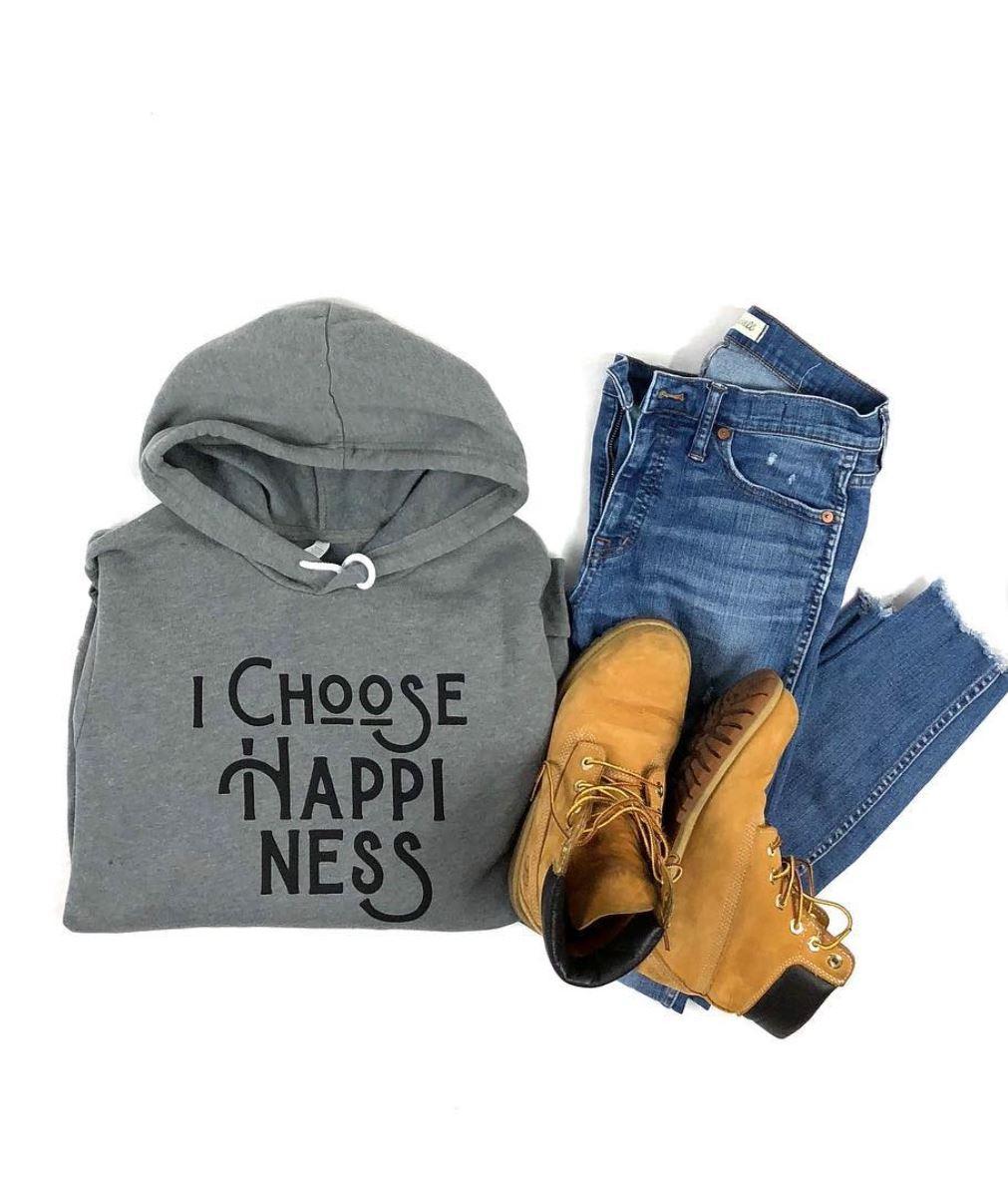 I Choose Happiness Hoodie