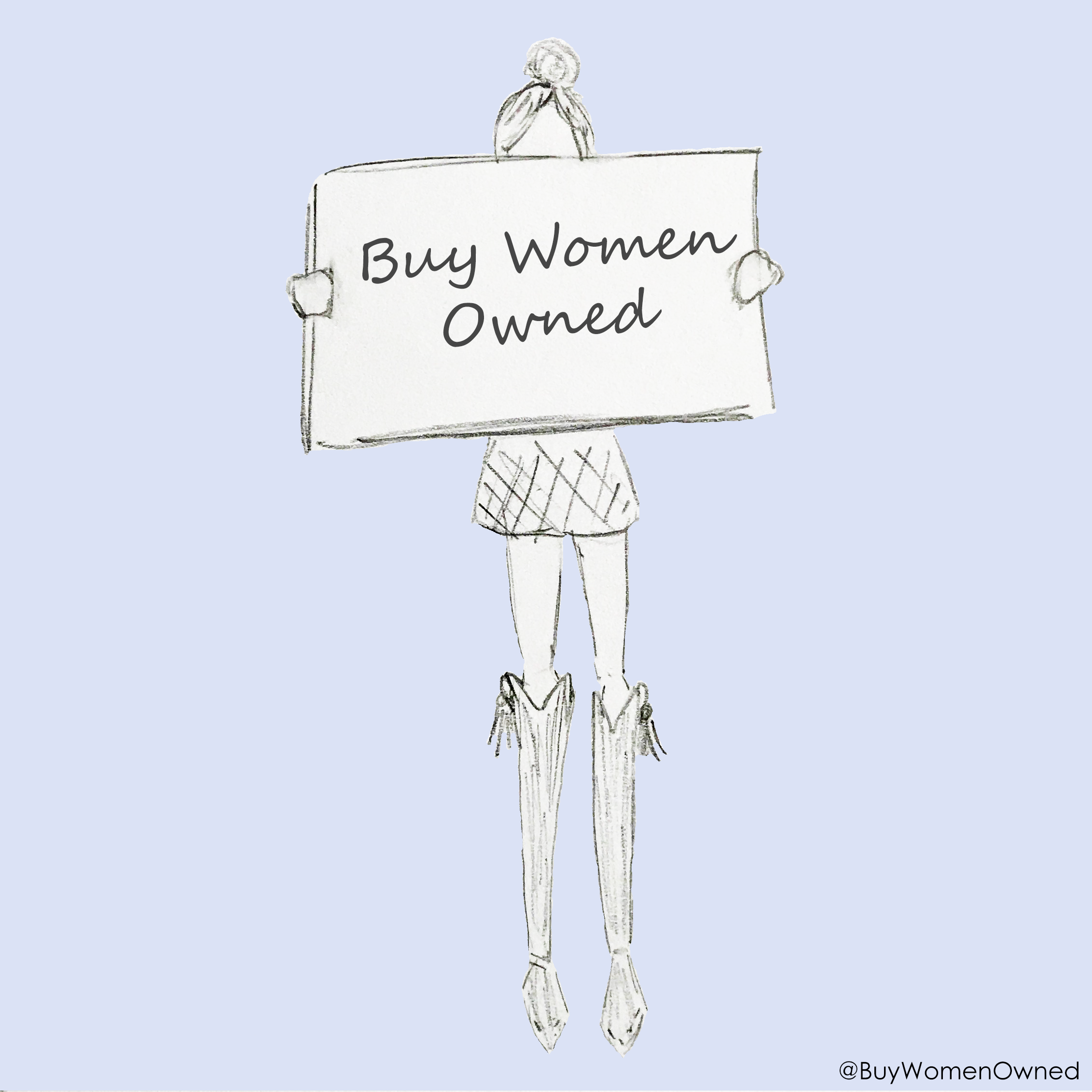 Cartoon girl w sign_Buy Women Owned.png