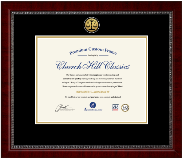 Legal Certificate Frames and Gifts