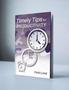 Timely Tips for Productivity