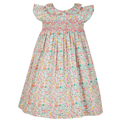 Bambiola - Mia Ditsy Smock Baby Dress