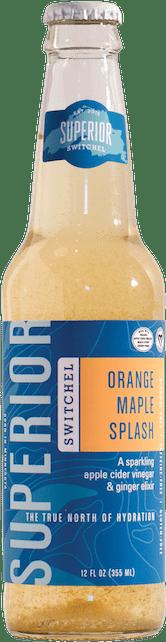 Orange Maple Splash