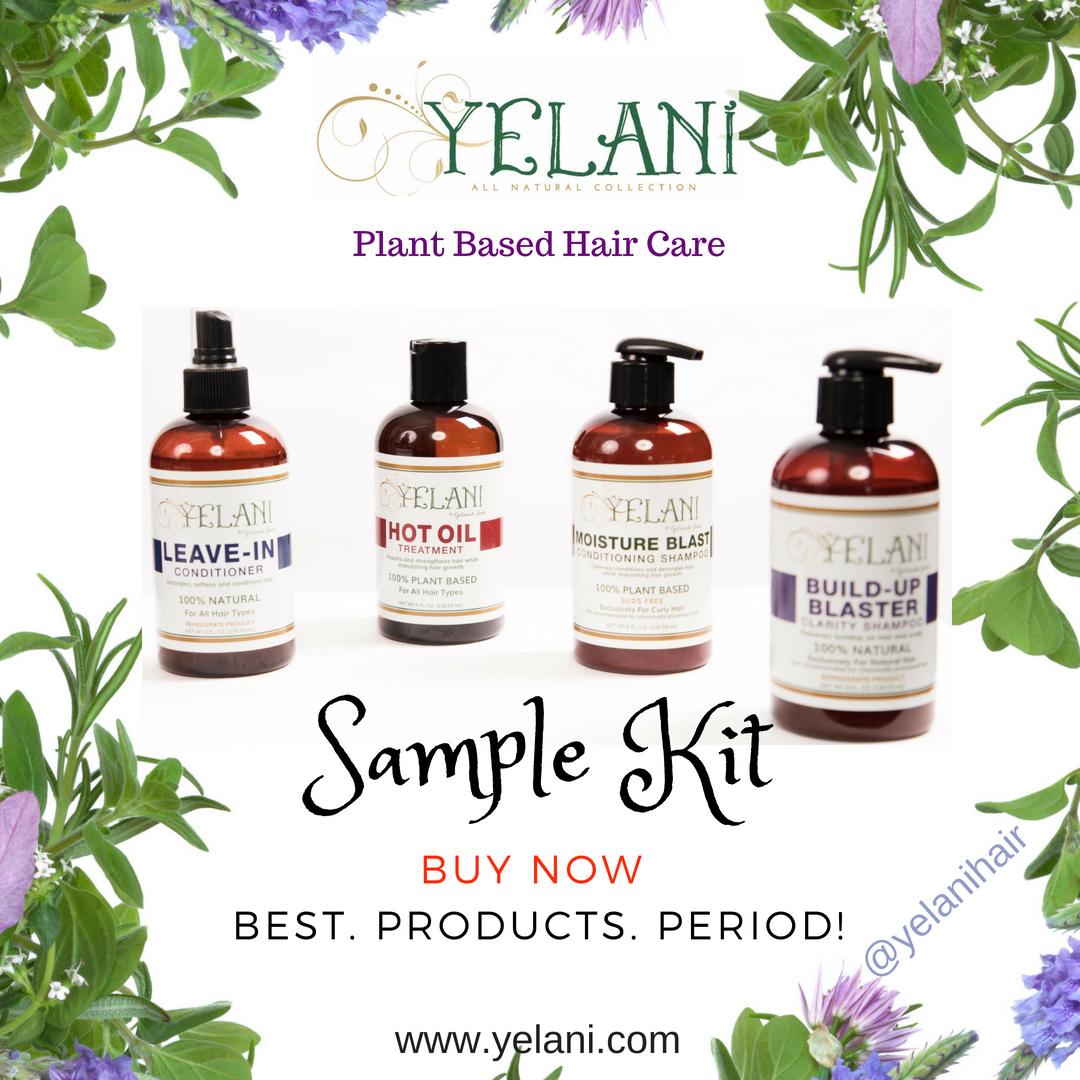 Yelani Trial Hair Product Kit