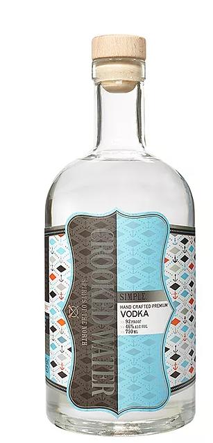 Simple Hand Crafted Premium Vodka