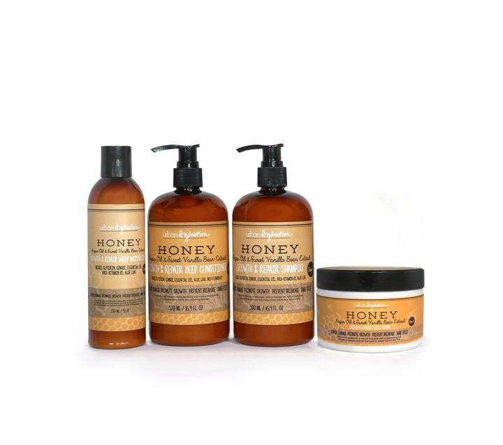 Honey Growth & Repair Haircare Bundle