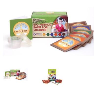 Children's Earth Paint Kit
