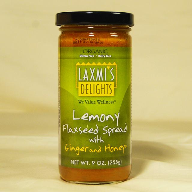 Lemony Flaxseed Spread