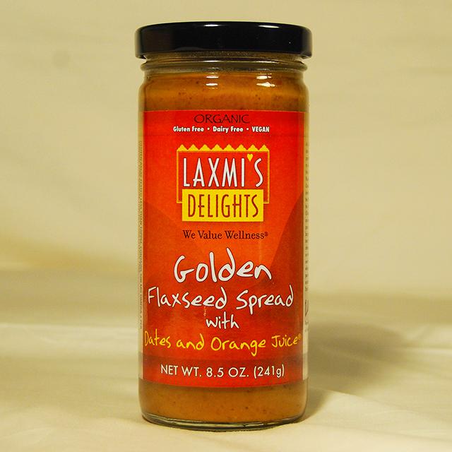 Golden Flaxseed Spread