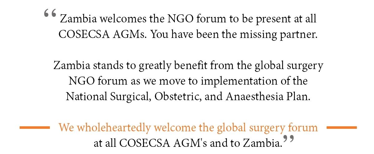 -  Dr. Emmanuel Makasa, Counsellor-Health, Permanent Mission of Zambia, Geneva