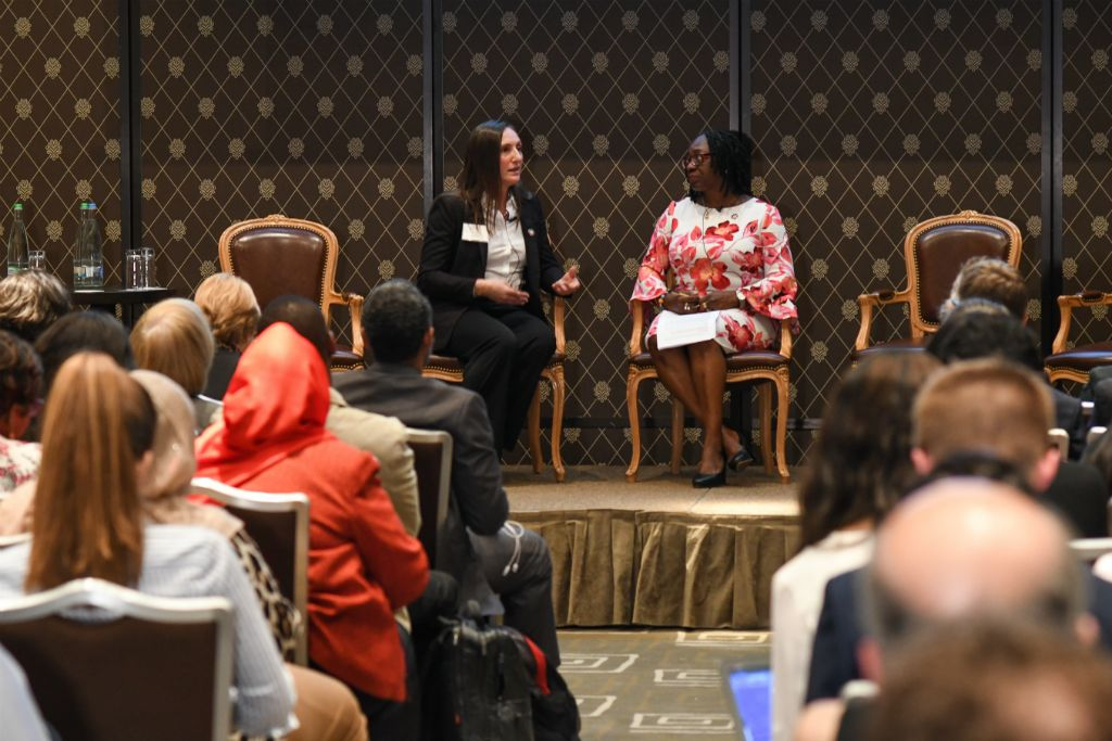 Dr. Lauri Romanzi and Dr. Bisola Onajin-Obembe discuss the challenges that female health workers providing surgical, obstetric and anaesthesia care often face.