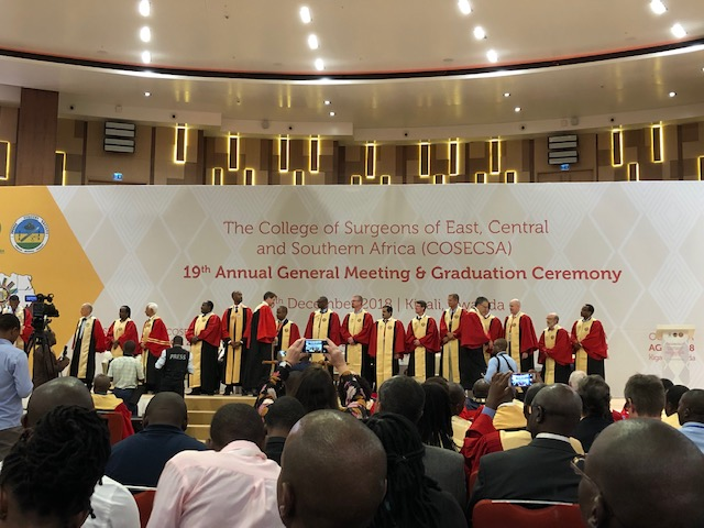 The COSECSA Graduation Photo credit: Dr. Jaymie Henry