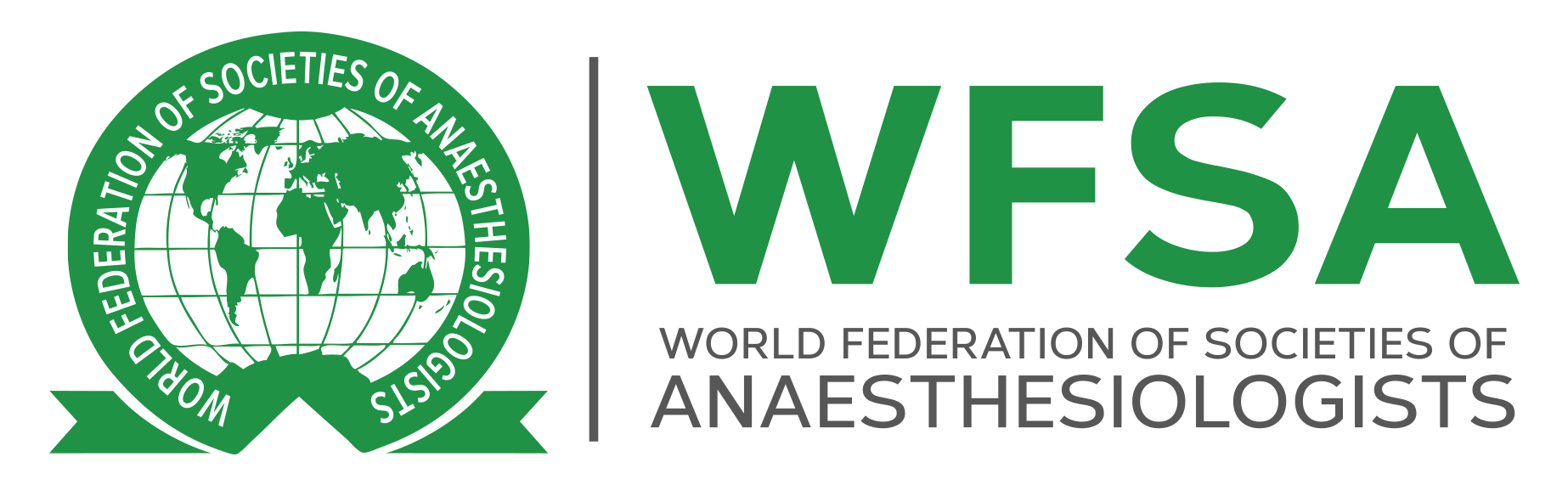 World Federation of Societies of Anaesthesiologists (WFSA) Logo PNG.png
