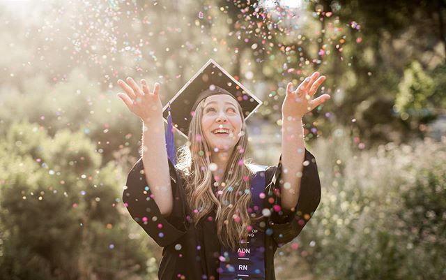Feeling all the emotions with so many amazing people graduating this year. I'm rooting for each and every one of you!