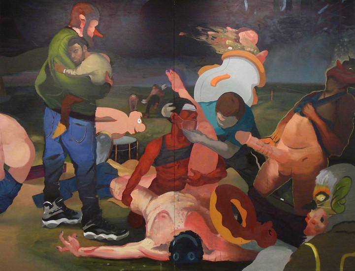 nakedandfamous 100 x 138 oil on canvas 27,000.jpg
